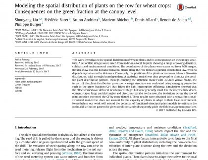 spatial distribution paper front page