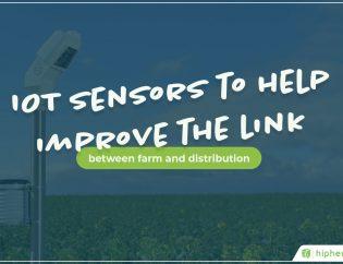 iot sensors in a field