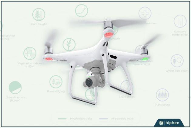 dji drone for uav traits