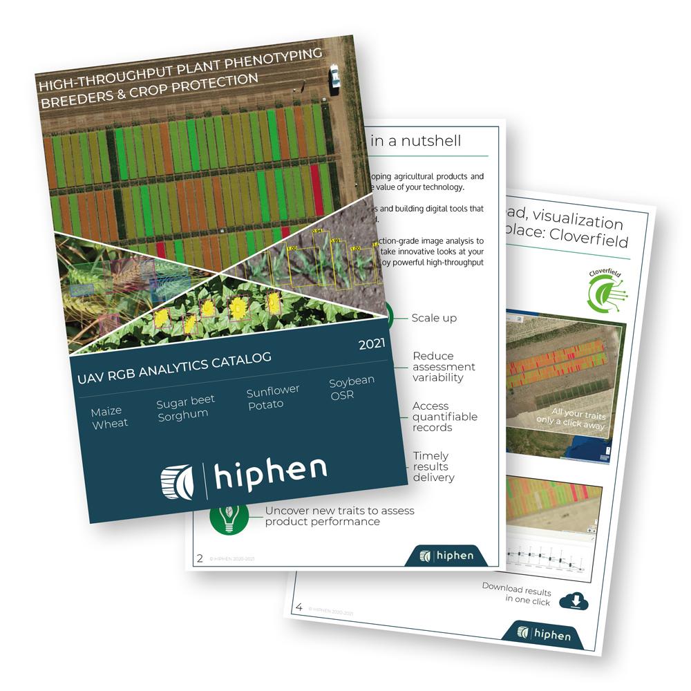 2021 Hiphen RGB traits catalog poster